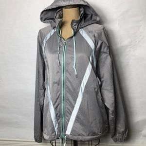 Free People movement hooded rain jacket